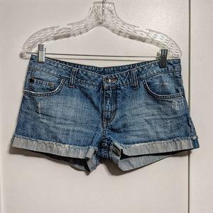 Vans Light Wash Denim Shorts (Authentic ~2010)